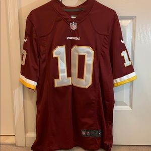 Men's authentic Nike Redskins jersey